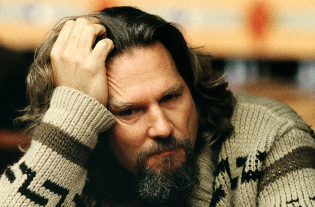 "Jeff Bridges im Jahr 1998 in den Film ""The Big Lebowski"" Foto: imago/Prod.DB"