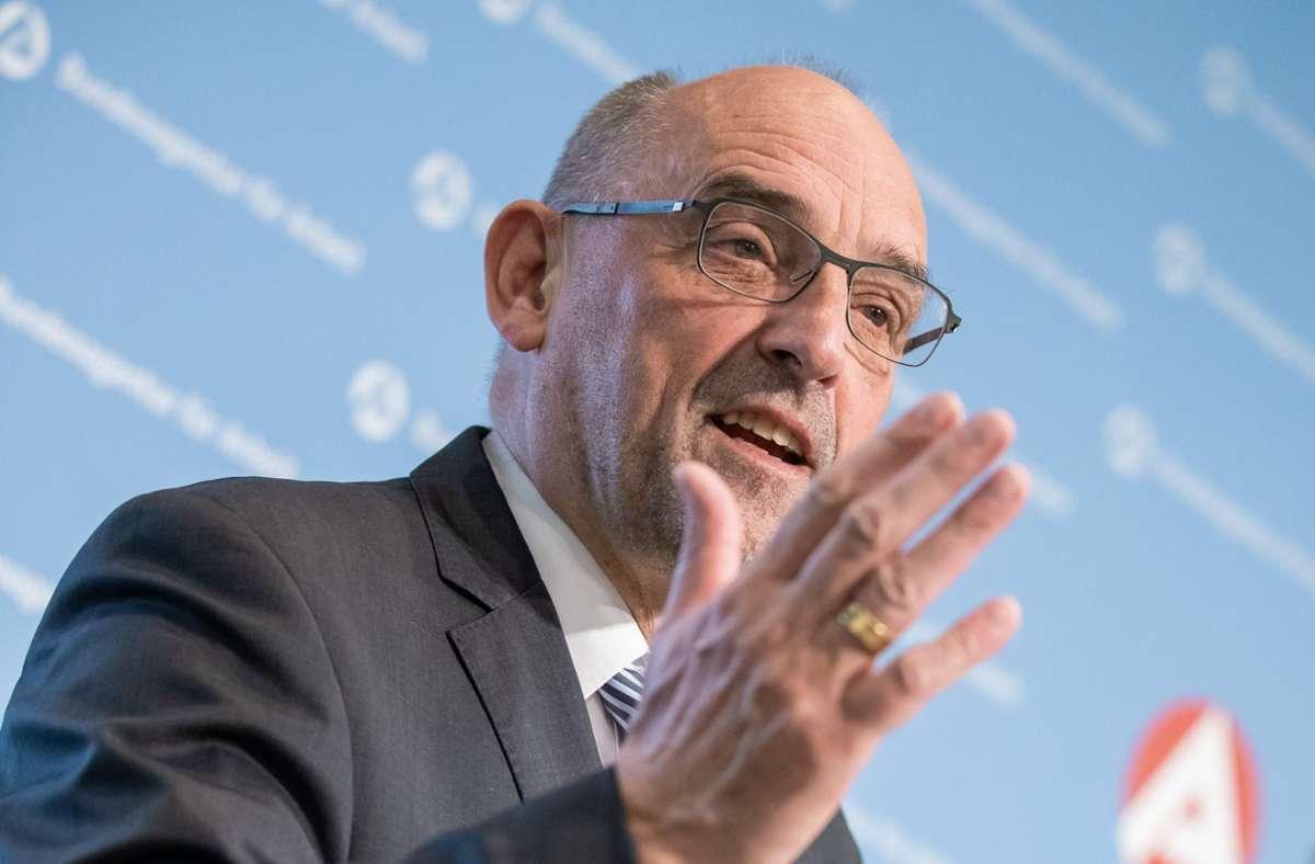 Detlef Scheele ist seit vier Jahren Vorstandsvorsitzender der Bundesagentur für Arbeit. Foto: dpa/Daniel Karmann