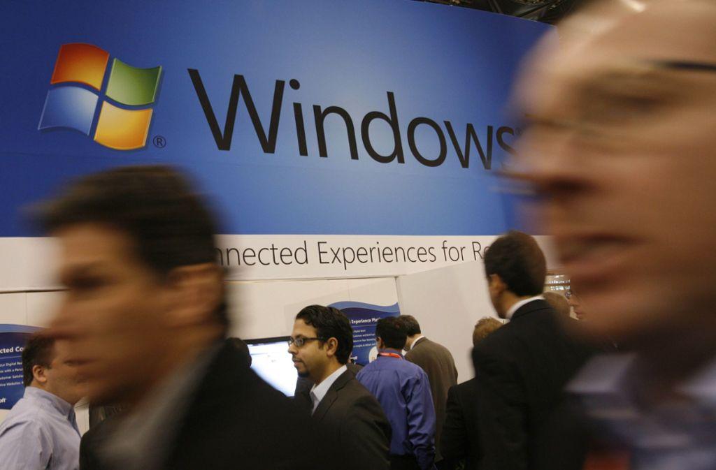 Die NSA entdeckte eine Sicherheitslücke bei Microsoft. Foto: AP/Mark Lennihan