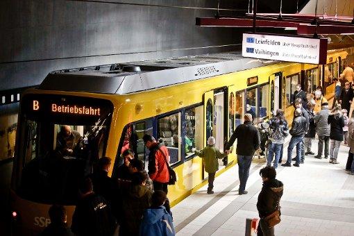 Neue Stadtbahn genau geprüft