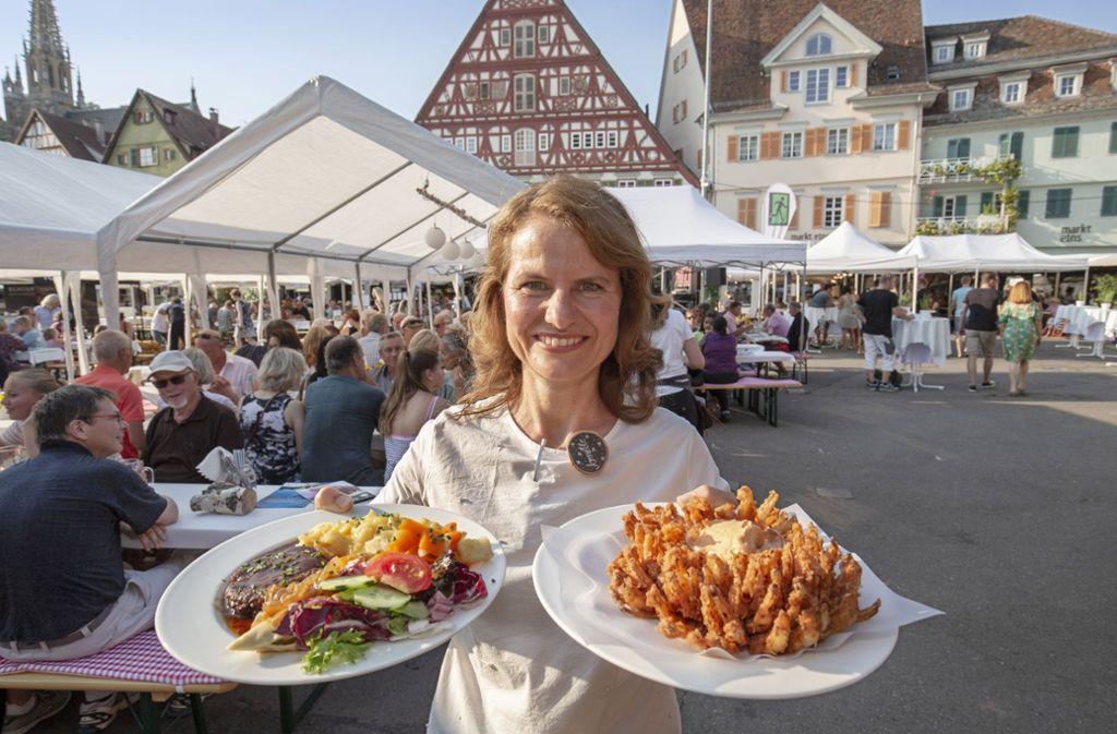 Was bringt der Sommer auf dem Esslinger Marktplatz? Foto: Michael Steinert
