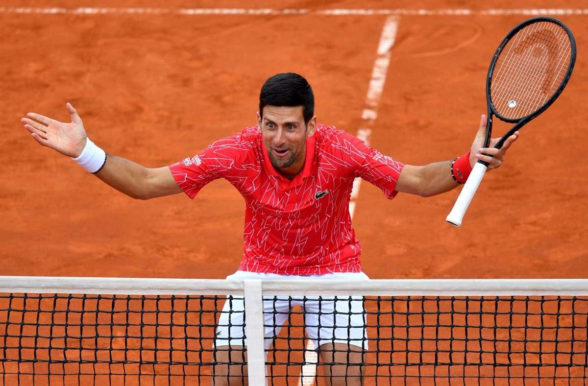 Tennis-Star Novak Djokovic Foto: AFP/ANDREJ ISAKOVIC