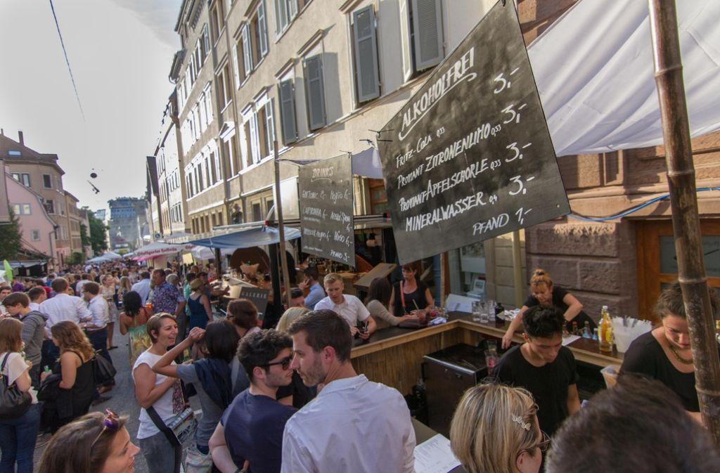 Das Bohnenviertelfest ist nur eines der vielen Stuttgarter Straßenfeste an diesem Wochenende in Stuttgart. Foto: Lichtgut/Julian Rettig