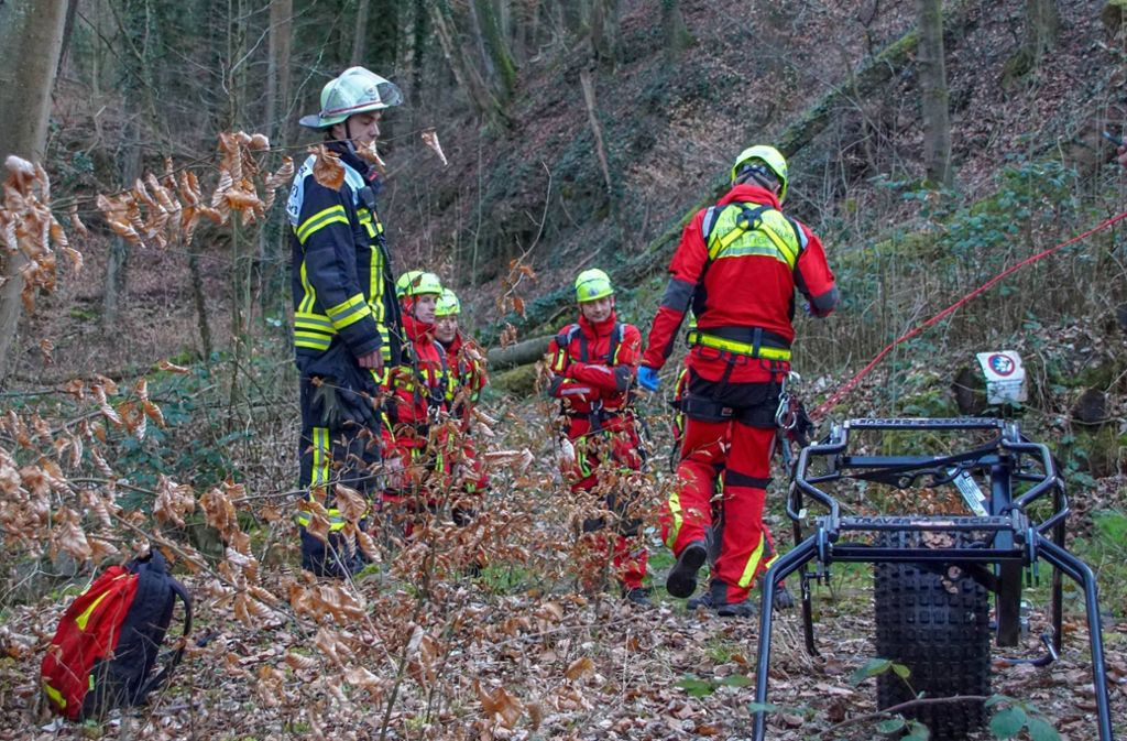 In einem Wald bei Hedelfingen wurde der Vermisste tot gefunden. Foto: 7aktuell/Andreas Werner