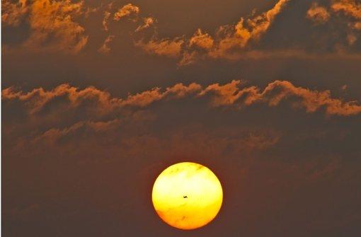"""""""Goldgelb und höhnisch grell"""" – zur Sonne hat Denis Mina offenbar  ein ganz eigenes Verhältnis. Foto: dpa"""