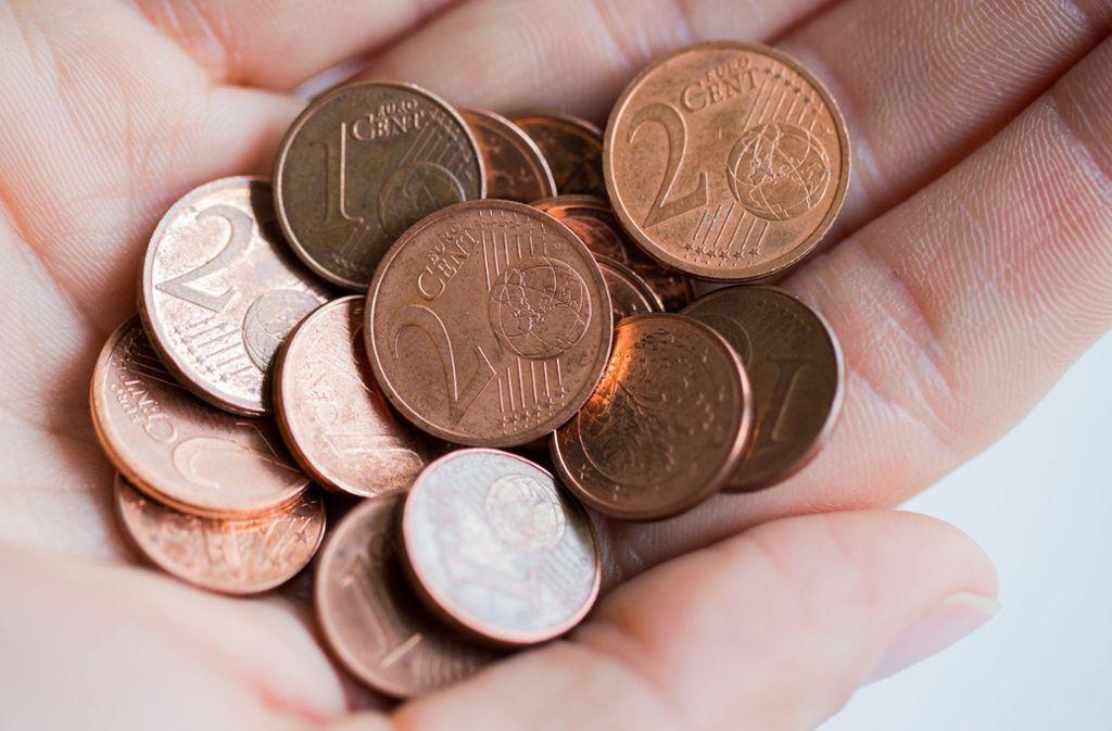 Ein- und Zwei-Cent-Münzen könnten bald der Vergangenheit angehören. Foto: dpa/Rolf Vennenbernd
