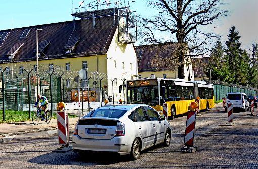 Vollsperrung von Plieningen nach Möhringen