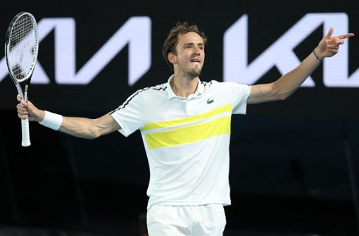 Daniil Medwedew fordert Novak Djokovic im Finale