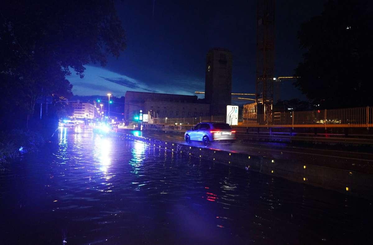 Die Klimakrise hat auch Auswirkungen auf Stuttgart wie beim schweren Unwetter im  Sommer. Foto: Andreas Rosar Fotoagentur-Stuttg/Andreas Rosar Fotoagentur-Stuttgatz