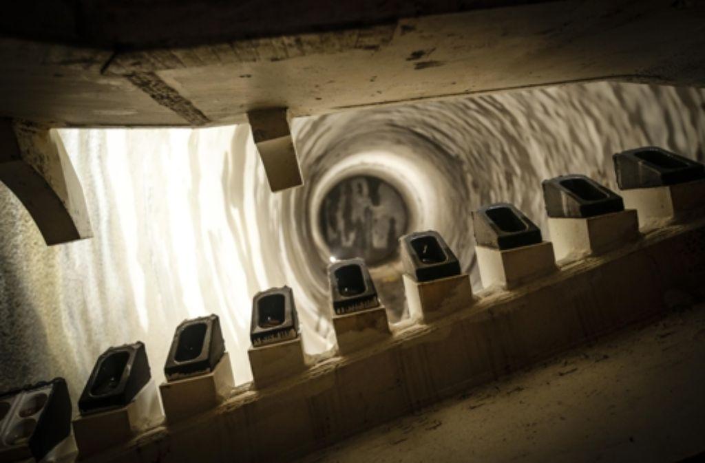 Über den Jahreswechsel geht es in Stuttgart-21-Tunneln nicht voran. Foto: Leif Piechowski