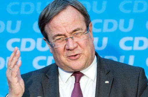Laschet schließt Kandidatur für CDU-Vorsitz aus