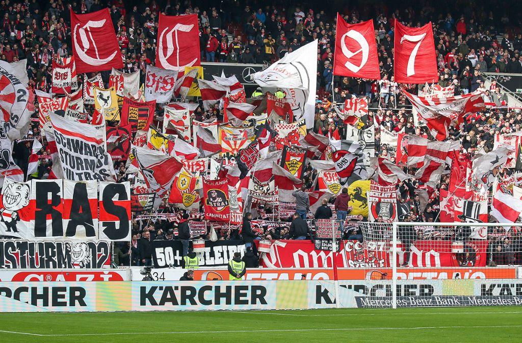 Die Ultras sind aus der Fußballlandschaft nicht mehr wegzudenken. Foto: Baumann