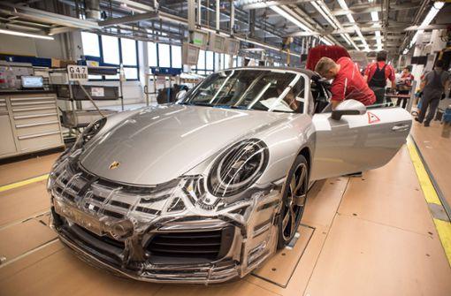 Porsche zahlt Spitzenprämie