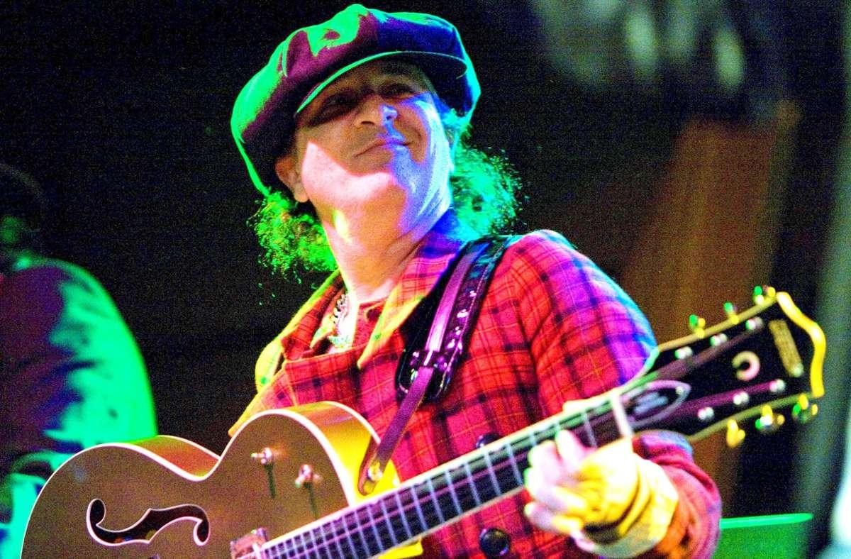 Sylvain Sylvain hat mit seiner Band New York Dolls viele  berühmte Kollegen beeinflusst. Foto: imago/Zuma