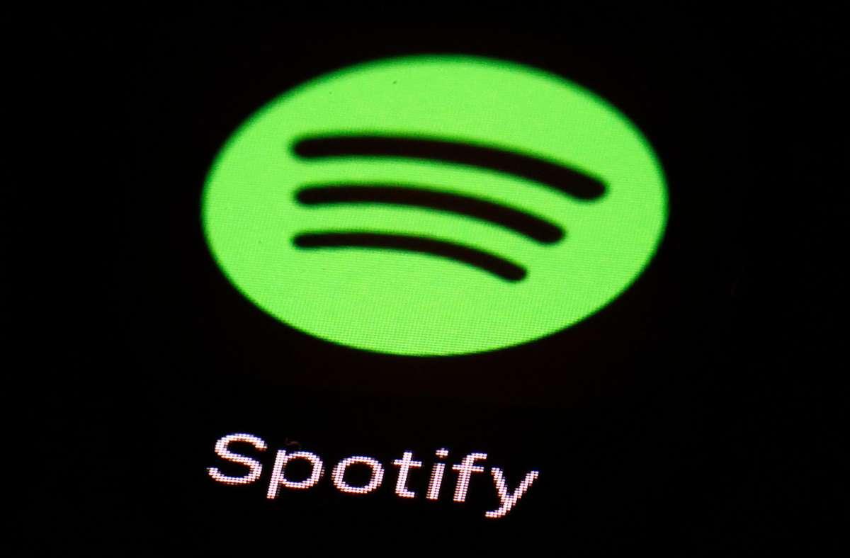 Bei Spotify gibt es derzeit eine Störung. Foto: AP/Patrick Semansky