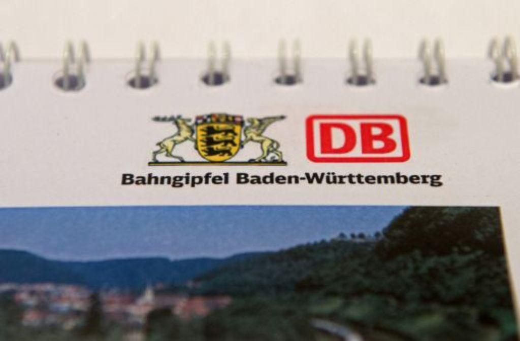 Die Bahn legt in den kommenden fünf Jahren einen Investitionsschwerpunkt auf Baden-Württemberg. Bis 2017 werden 8,1 Milliarden Euro in Bestand, Erhalt und Ausbau gesteckt. S21, dessen Kosten die Summe nicht umfasst, war bei dem Austausch ausdrücklich kein Thema. Foto: dpa