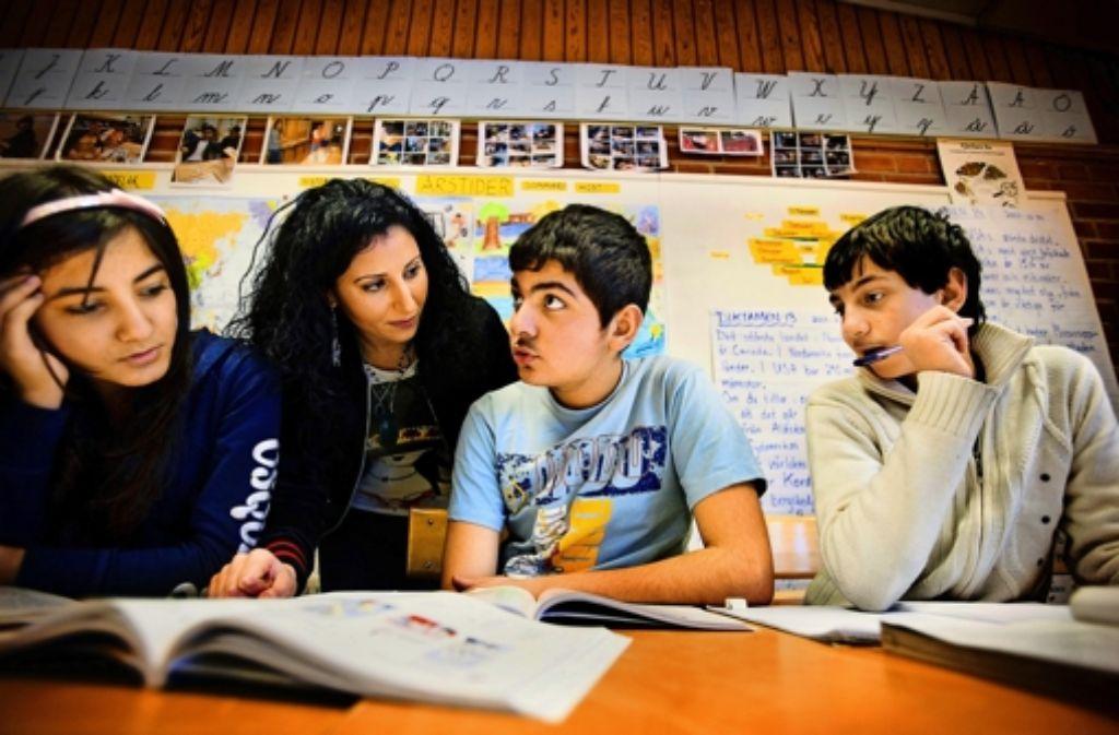 In der Ronna-Schule sprechen zwei Drittel der Schüler Arabisch. Foto: