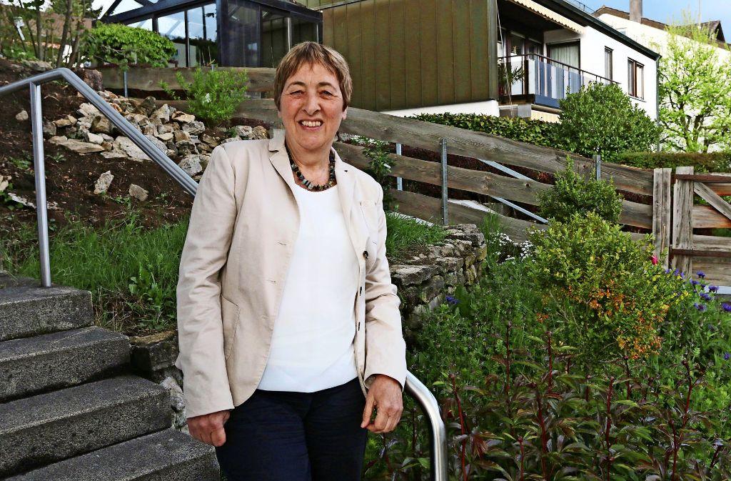 Seit fast 40 Jahren lebt Doro Moritz in Heimsheim. Nicht nur hier ist die engagierte 61-Jährige für die Allgemeinheit aktiv. Foto: Andreas Gorr