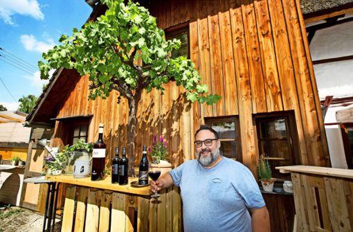 Seltene  Weine  im Kornschreiberhaus