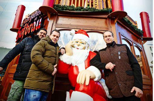 Das neue Wahrzeichen des Stuttgarter Weihnachtsmarkts