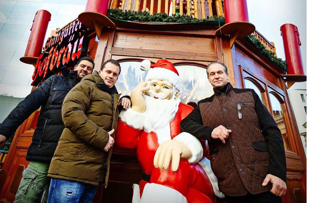 Familiengeschäft: Monty Lagerin, Manuel und Andreas Zinnecker (v. l.) Foto: Lg/Leif Piechowski