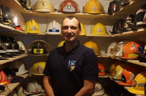 Feuerwehrhelme mit Geschichte