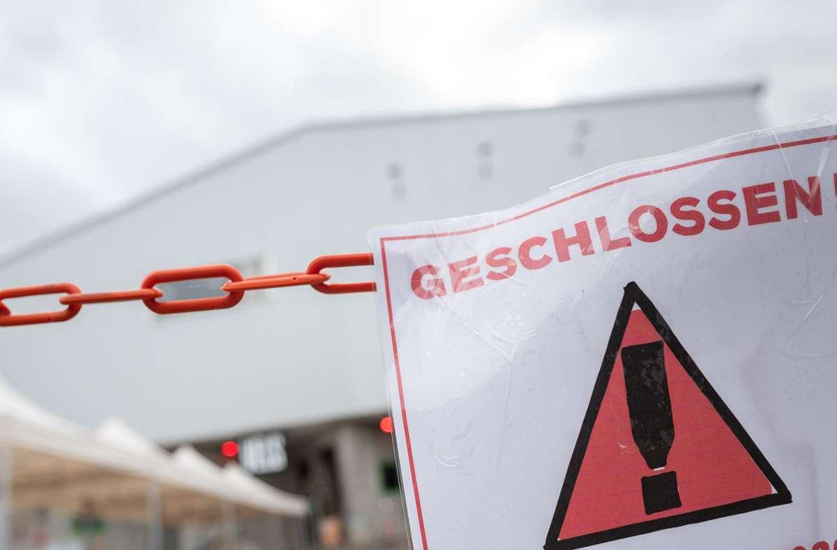 Restaurants und Einzelhandel bleiben wohl noch bis zum 28. März geschlossen. Foto: dpa/Sebastian Gollnow