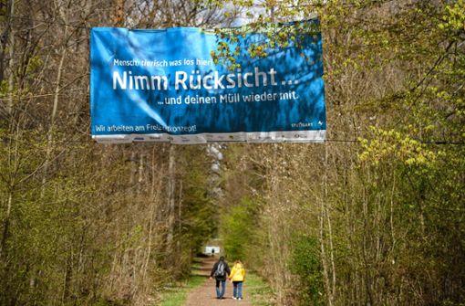 Neue Kampagne im Kampfgebiet Stuttgarter Wald