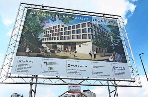 Rathaus-Neubau: Jetzt wird's ernst