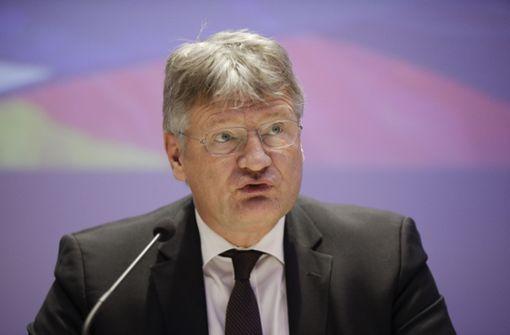 Jörg Meuthen versteht Angst von jüdischer Gemeinde vor AfD nicht