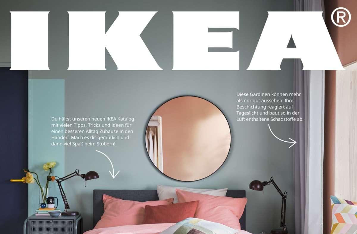 So sieht der neue Ikea-Katalog 2021 aus. Er erscheint offiziell am 17. August. Foto: Ikea/Hersteller