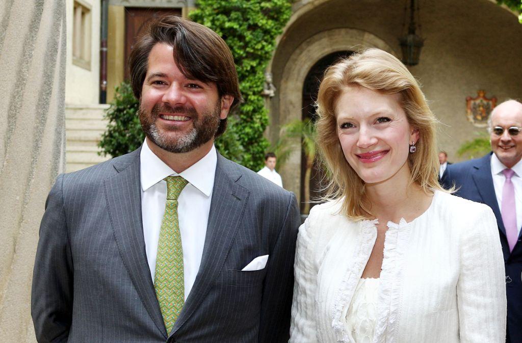 Die junge Generation einer alten Dynastie: Erbprinz Christian zu Fürstenberg und seine Frau Jeannette. Foto: dpa