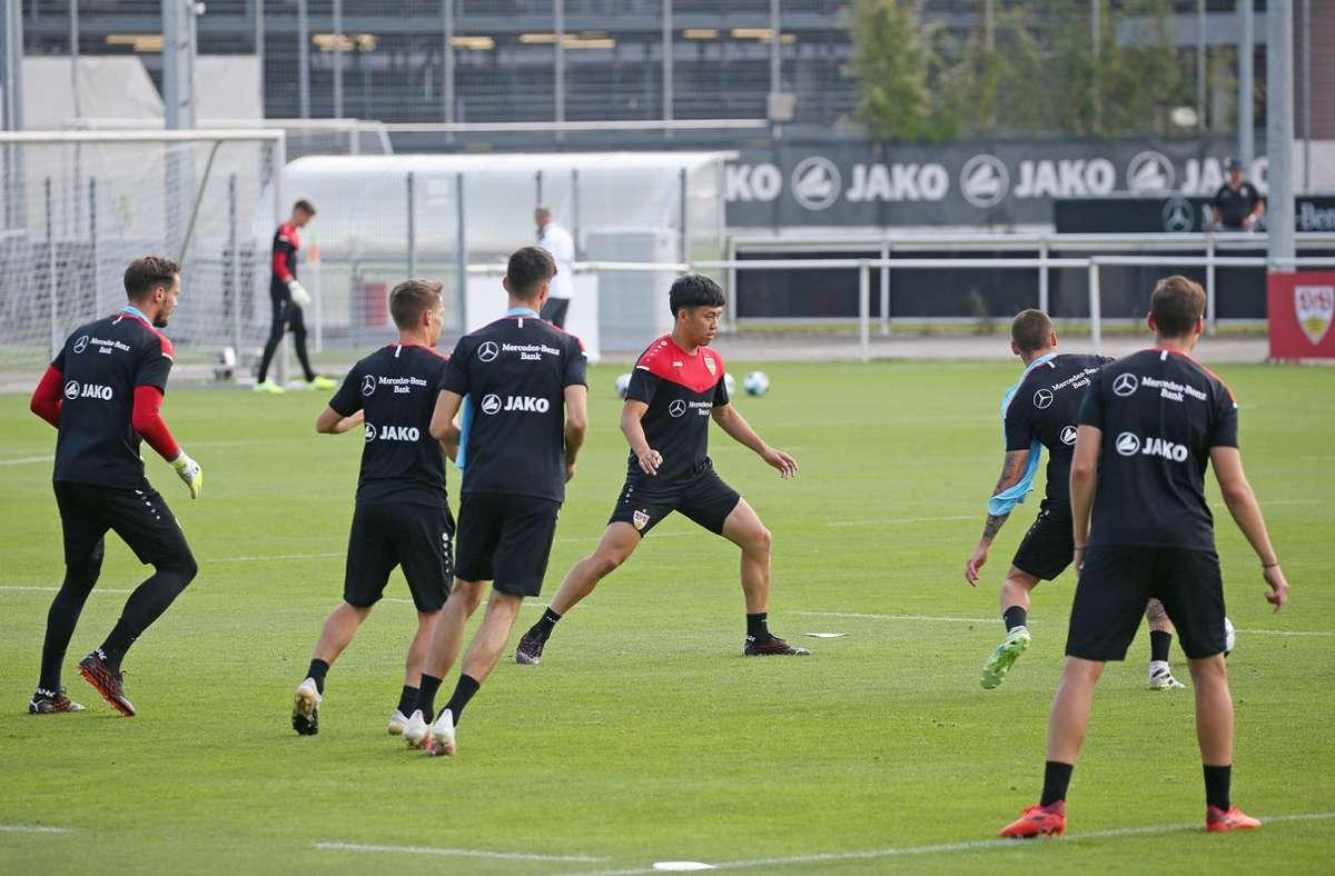 Dann geht es für die Mannschaft von Trainer Pellegrino Matarazzo zum Auswärtsspiel zum FSV Mainz 05. Foto: Pressefoto Baumann