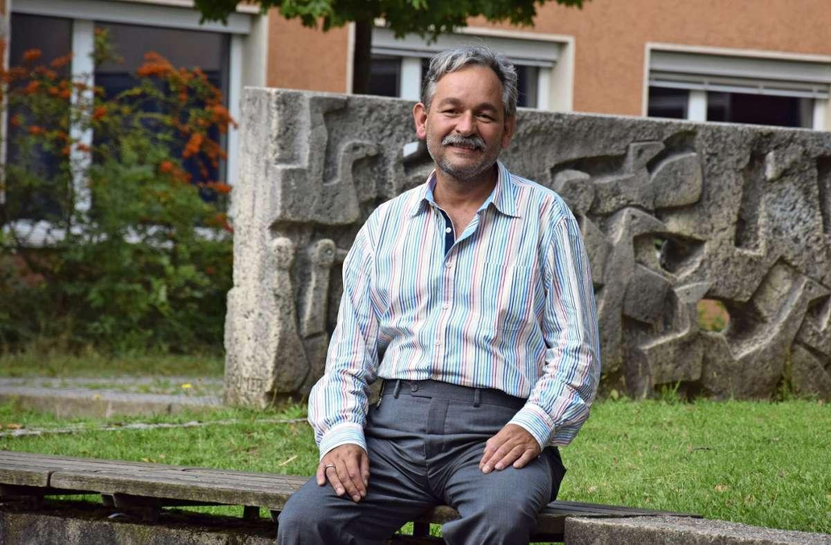 2017 hatte Guntram Haag die Schulleiterstelle in Vaihingen angetreten. Mit dem Ende des Schuljahres verlässt er nun das Fanny-Leicht-Gymnasium. Foto: Alexandra Kratz