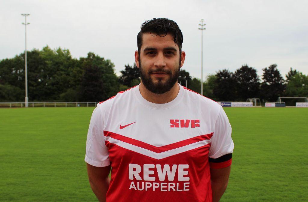 Kapitän und bester Torschütze des SV Fellbach II: Alessandro De Giovanni Foto: Privat