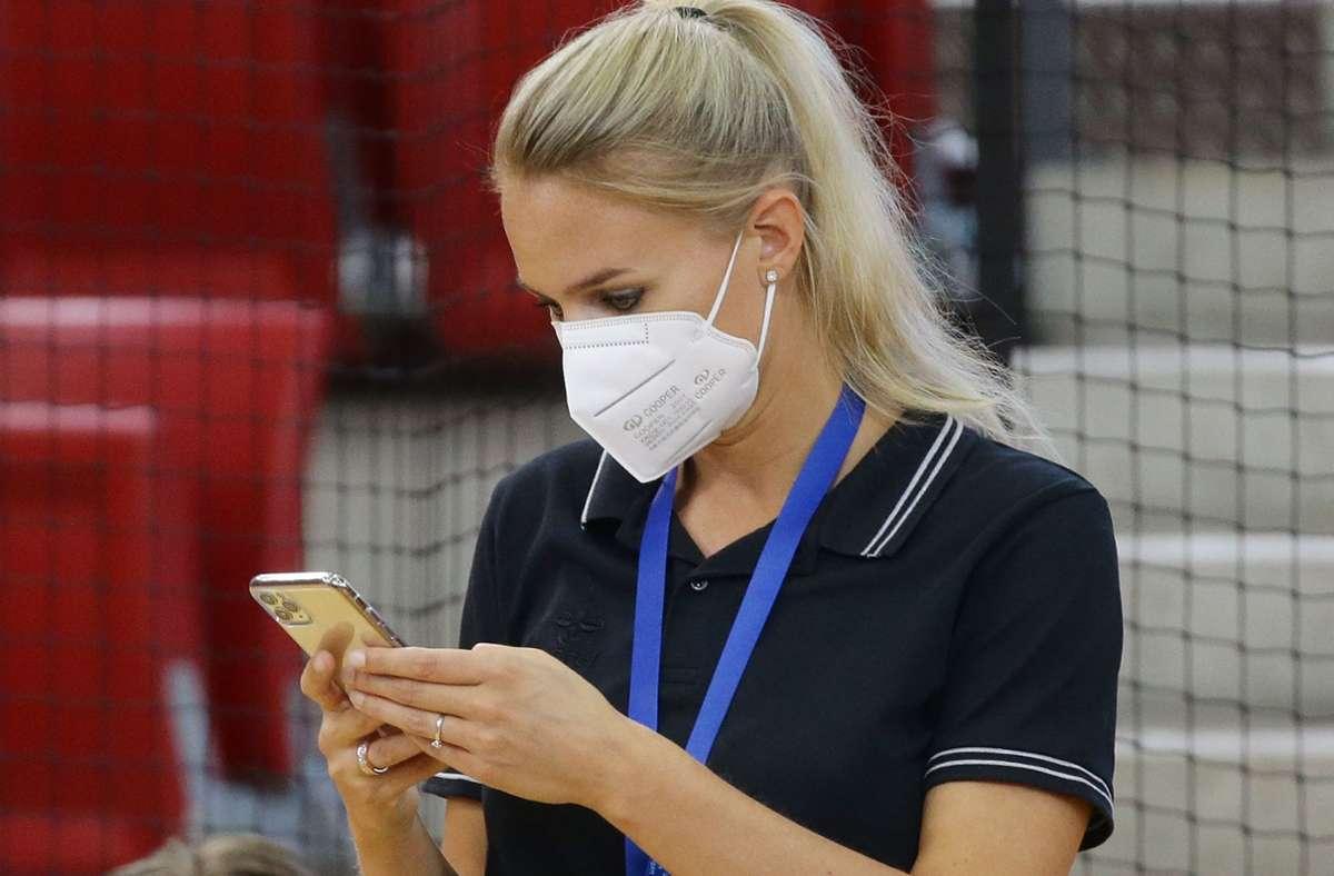 Alles ist unsicher: MTV-Sportdirektorin Kim Renkema Foto: Baumann