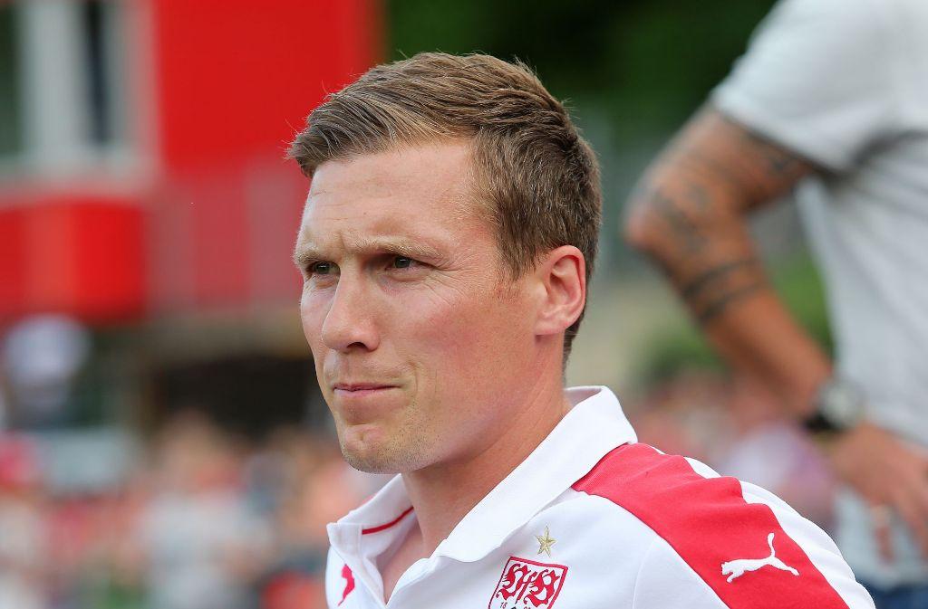 Hannes Wolf muss mit seinem VfB Stuttgart gegen Energie Cottbus spielen. Foto: Pressefoto Baumann