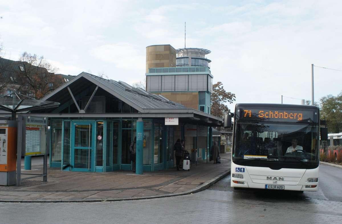 Der 71er-Bus hält derzeit nicht mehr am ZOB in Stuttgart-Degerloch. Foto: Archiv