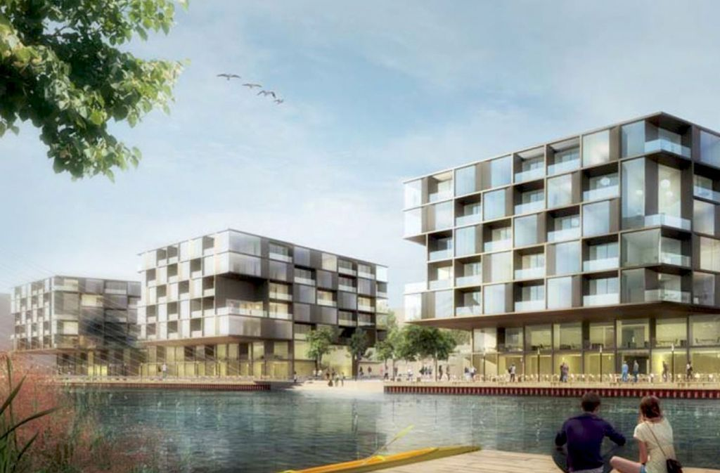 Siegerentwurf des Architektenwettbewers vom Büro Kadawittfeld in Aachen. Foto: Kadawittfeld Architektur GmbH