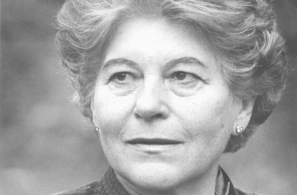 Hertha Töpper starb im Alter von 95 Jahren. Foto: picture alliance / dpa/Martina Hellmann