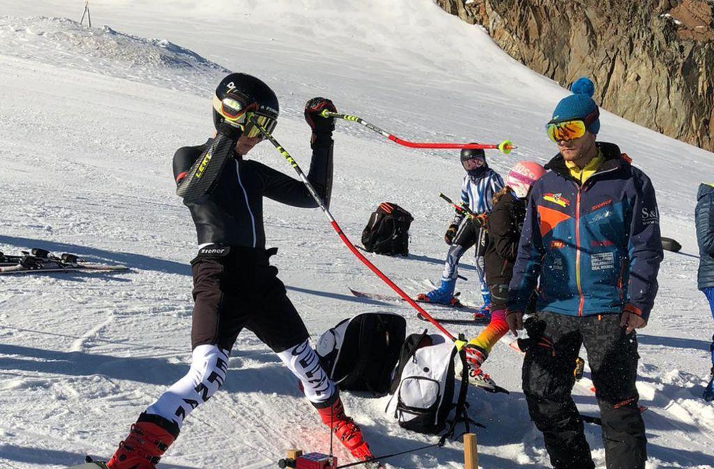 Peter Haupt (rechts) trainiert seit drei Jahren die Gehörlosen-Nationalmannschaft. Foto: Peter Haupt