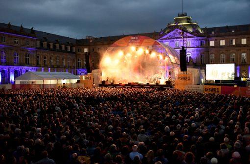 Standing Ovations für  Holtmann gleich zu Konzertbeginn