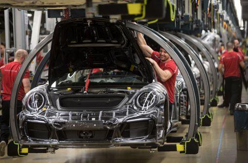 Porsche meldet Behörden Unregelmäßigkeiten bei Verbrauchstests