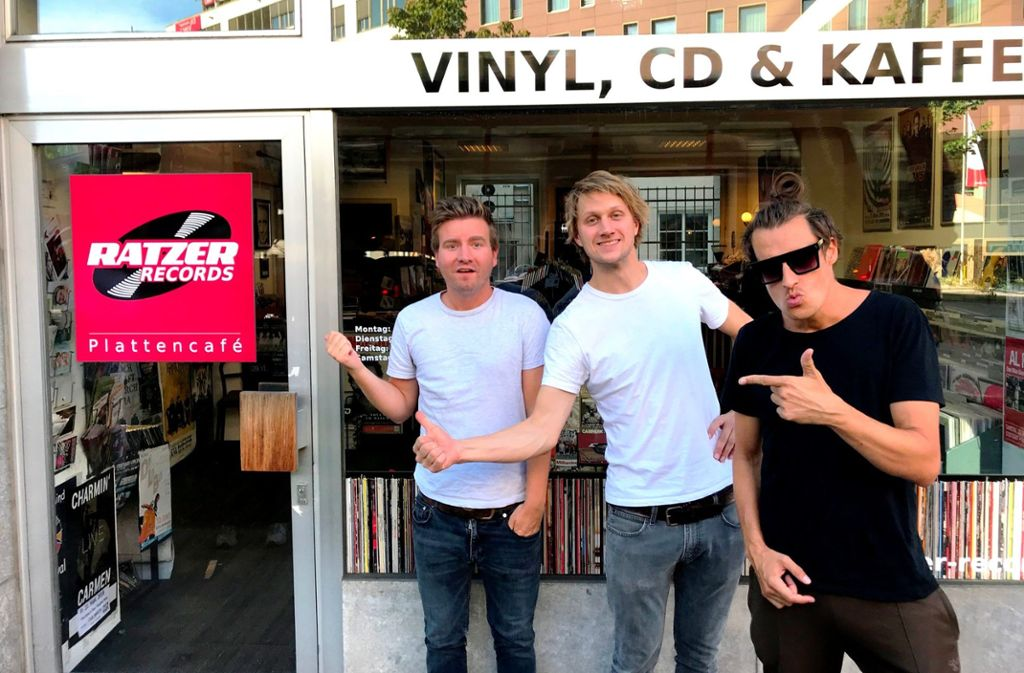 Die Band Schmutzki wird am Donnerstag zum Plattentaxi - gemeinsam mit dem Plattenladen Ratzer Records. Foto: privat