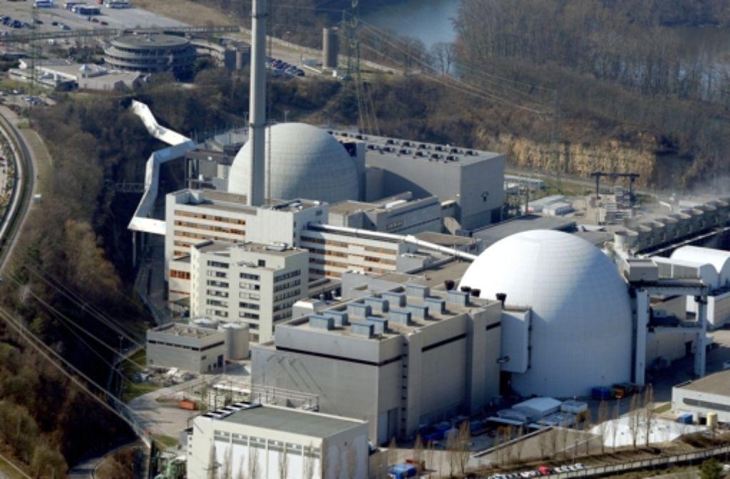 Ein defektes Brennelement sorgt für Aufregung um das Kernkraftwerk Neckarwestheim. Foto: dpa