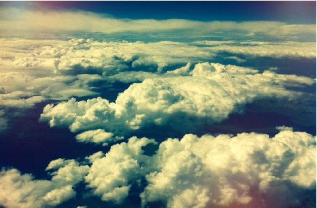Über den Wolken da muss die Angst wohl grenzenlos sein. Foto: Stefanie Ren