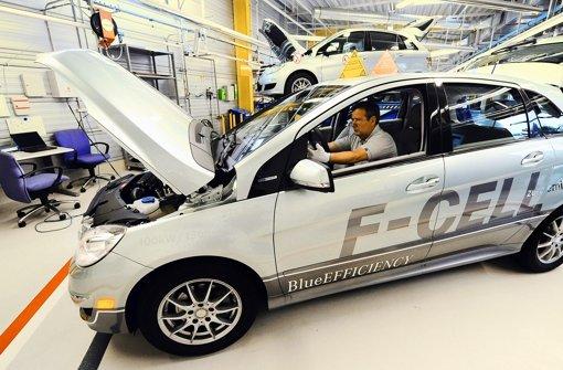 Daimler schmiedet Brennstoffzellen-Bündnis