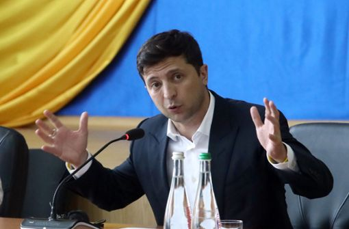 Selenskyj-Partei reklamiert absolute Mehrheit