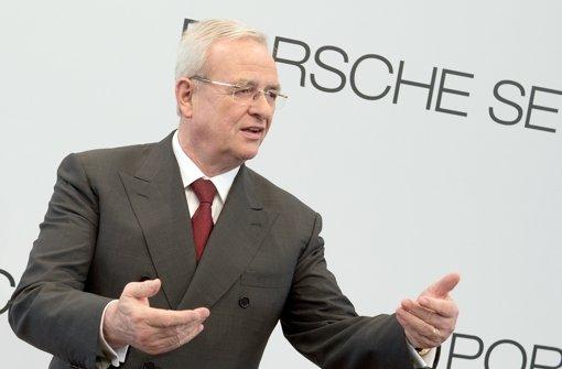Winterkorn tritt auch als Chef der Porsche Holding zurück