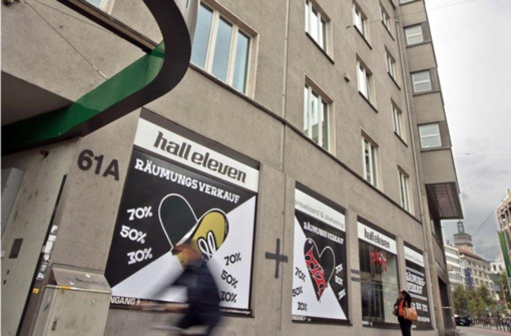 Die Stadtwerke Stuttgart werden zum Jahresende ihre Geschäftsstelle im Erdgeschoss des Tagblattturms eröffnen. Foto: Steinert